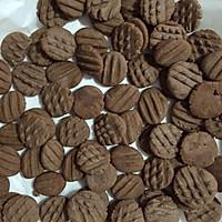 巧克力饼干(玉米油黄油混合版)的做法图解7