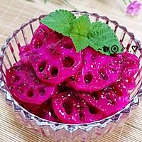 胭脂藕片----能排毒养颜的小吃的做法图解10