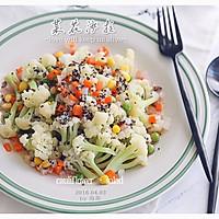 西式沙拉--三色黎麦花菜沙拉#宜家让家更有味#的做法图解21