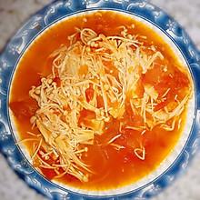 番茄(西红柿)金针菇