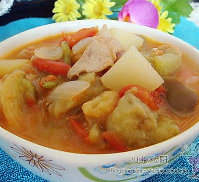 西北大烩菜(茄子主料版)