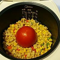 超超级简单版整个番茄饭 电饭煲版本的做法图解6