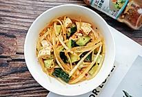 #321沙拉日#香辣开胃的鸡胸肉沙拉的做法