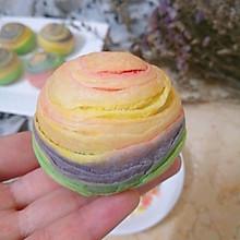 彩虹蛋黄酥