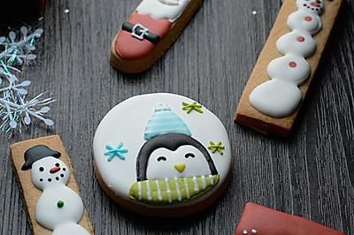 利用最简单的模具做出可爱的圣诞饼干