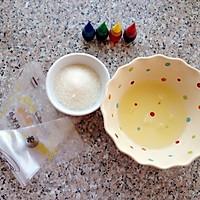 彩虹蛋白糖#九阳烘焙剧场#的做法图解1