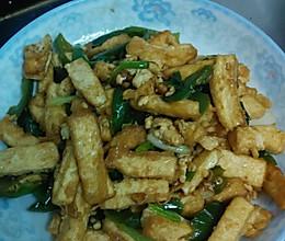 辣椒豆腐条的做法
