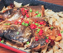 鱼头泡饼这样做好吃的做法