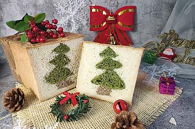 圣诞树吐司