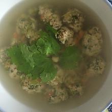 猪肉芹菜丸子汤