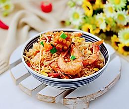 #中秋团圆食味#海鲜时蔬焖饭的做法