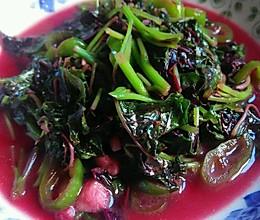 紫苋菜的做法