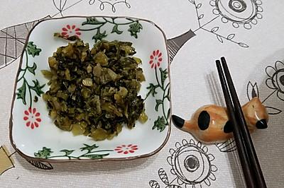 自制橄榄菜