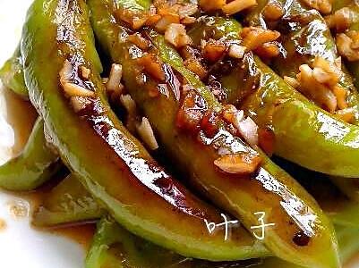 超级下饭菜之~虎皮尖椒的做法