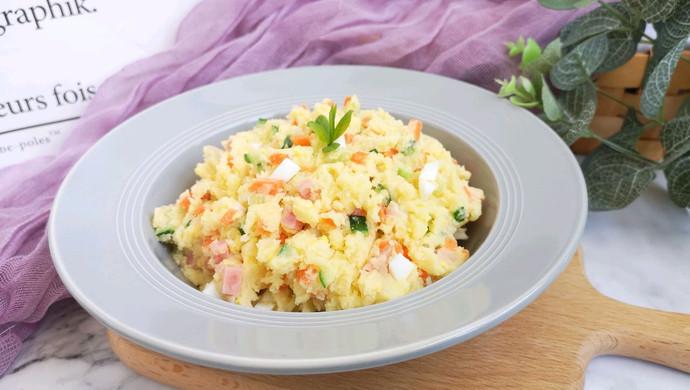 蛋黄土豆泥沙拉