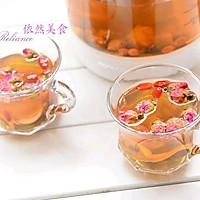 【九阳养生壶】玫瑰花草茶