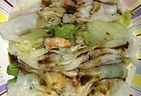 家常版广东肠粉  鸡蛋虾仁肠粉的做法