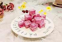 #初春润燥正当时#网红甜品+火龙果汁牛奶小方的做法