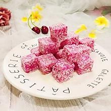#初春润燥正当时#网红甜品+火龙果汁牛奶小方