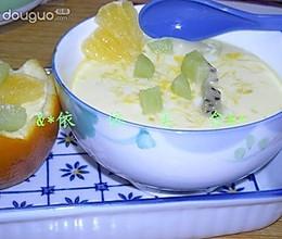 香橙牛奶炖蛋的做法