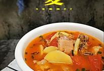 #夏日开胃餐#番茄土豆排骨汤的做法