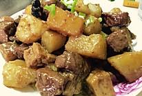 土豆红烧肉-简易版的做法