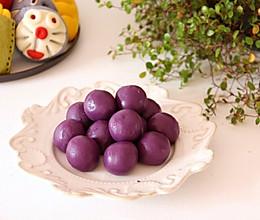 自制紫薯馅:的做法