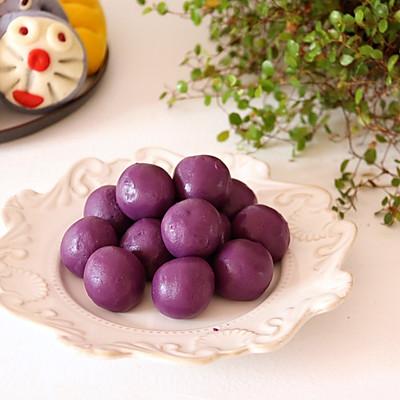 自制紫薯馅: