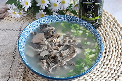 家常版羊杂汤,简单好做,不腥不膻,超好喝