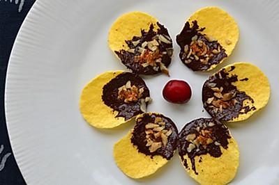 【美的M1-L237A微波炉】试用之巧克力辣味薯片