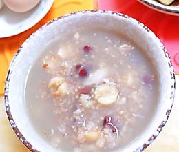 #换着花样吃早餐#五谷杂粮粥的做法