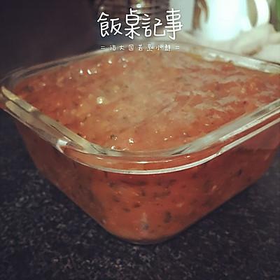 美味Pizza酱~(附快捷去番茄皮方法)的做法 步骤16