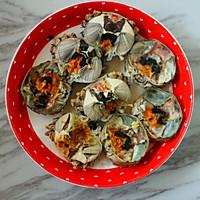 二味烤蟹的做法图解7