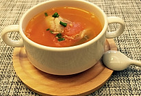 滋养的番茄排骨汤的做法
