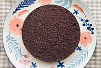 6寸黑米蒸糕的做法