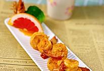 简又美的周末小聚料理~咸蛋黄焗虾球上桌啦的做法