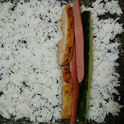 寿司的做法 步骤9