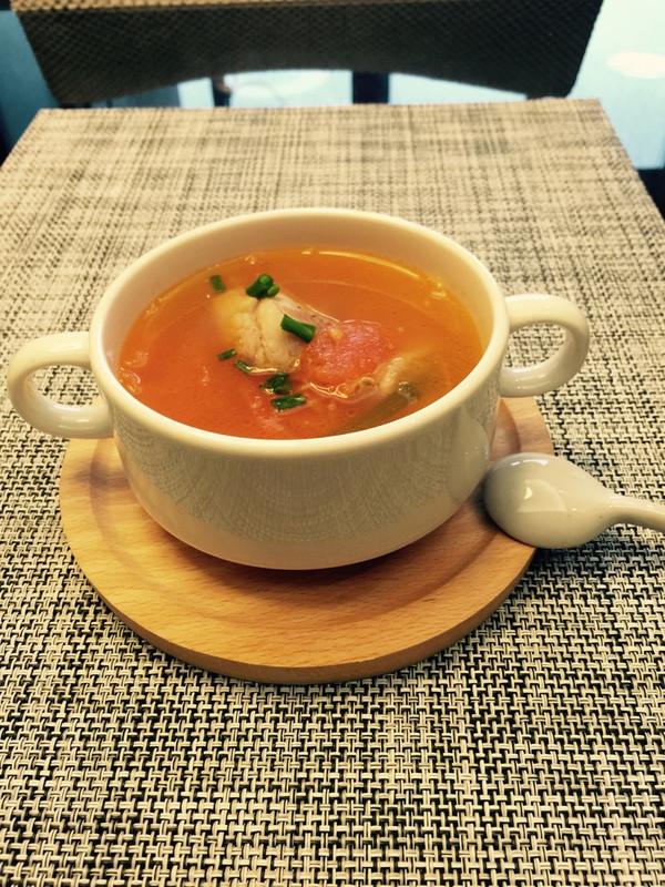 滋养的番茄排骨汤
