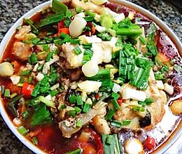 超辣麻辣水煮鱼片的做法