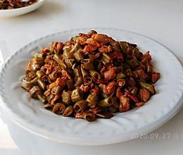 红油酱肉蒜豆角的做法