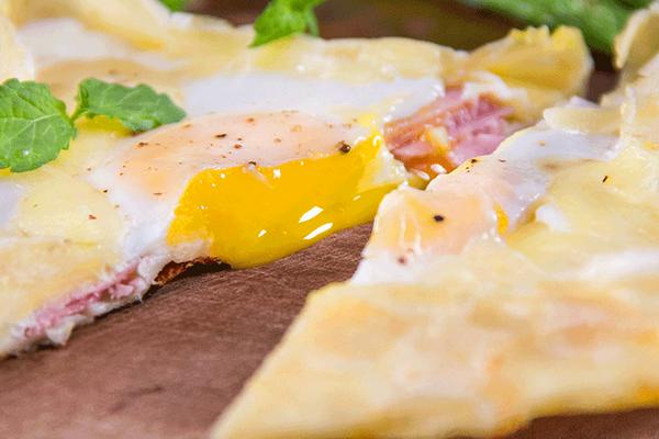 小羽私厨之法式早餐煎饼的做法
