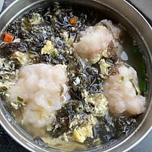 紫菜蛋花虾滑汤
