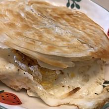 鸡蛋夹馍快手早餐