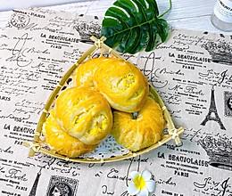 #营养小食光#椰蓉面包的做法