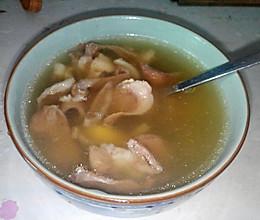 秋季滋补润喉猪心汤的做法