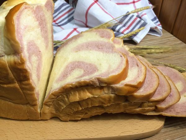 东菱热旋风面包机之紫薯面包