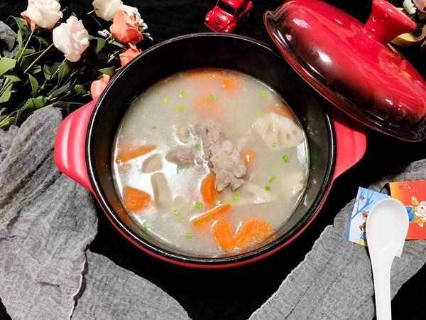 营养增质浓汤-排骨莲藕汤的做法