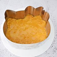 8寸KT猫芒果慕斯蛋糕的做法图解3
