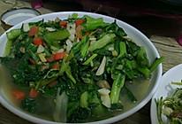 虾仁清炒小白菜的做法