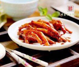 达人私房菜 秋日美肤啃骨香酥菜-【南乳凤爪】的做法